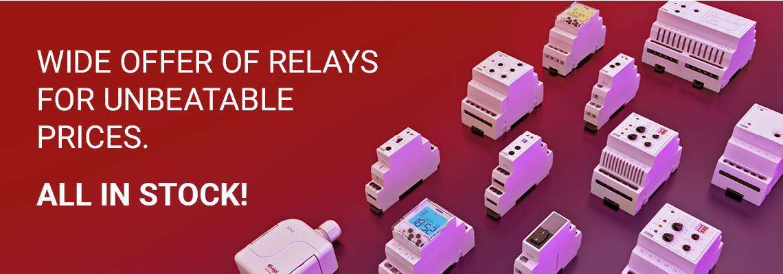 Relays - all in stock