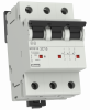 3-pole Miniature circuit breakers, characteristics C